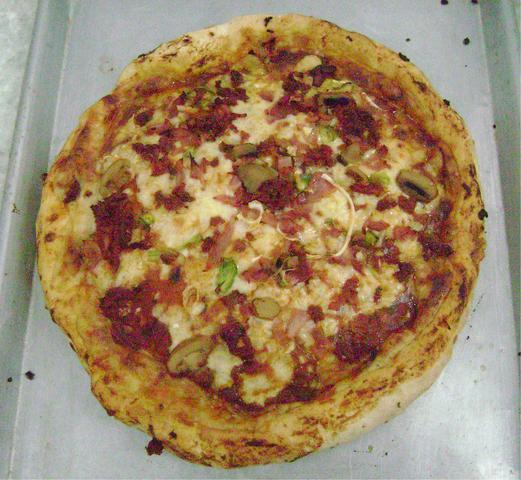 pizza criolla